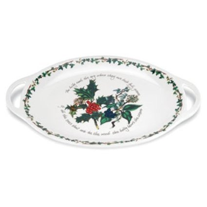 Portmeirion Holly and Ivy Oval Platter 45cm ()