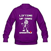 SOI Women's Hoodies Undertale Sans Purple