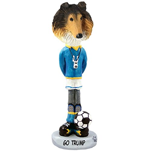 Sable Collie Figurine (Sable Collie Soccer Doogie Collectible Figurine)