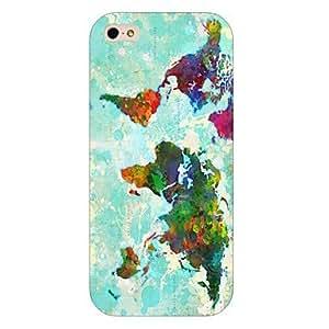 Tinta pintura teléfono Carcasa patrón para iPhone 5C