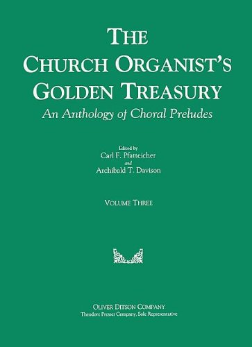(The Church Organist's Golden Treasury)