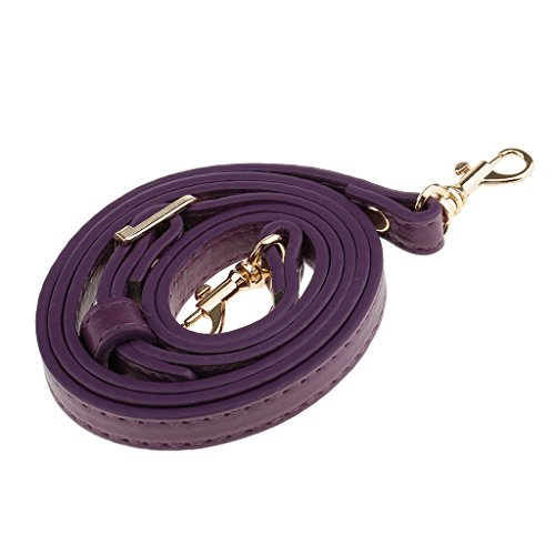 Sharplace Accessories Adjustable 120cm Orange Brown Length Handbag Shoulder Purple Adjustable Handles Bag DIY Straps wXXCdqxr
