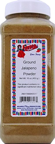 Bolner's Fiesta Extra Fancy ''Texas TNT'' Ground Jalapeno Pepper Powder, 16 Oz. by Fiesta (Image #2)