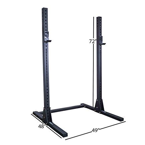 Titan X-3 Adjustable Squat Stand 3''x3'' by Titan Fitness (Image #1)