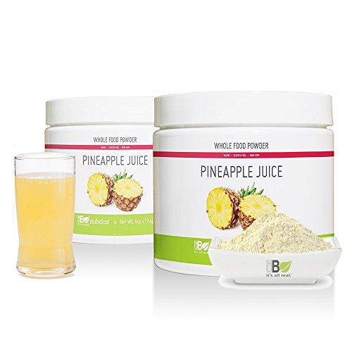 Nubeleaf Pineapple Juice Powder 6oz Jar