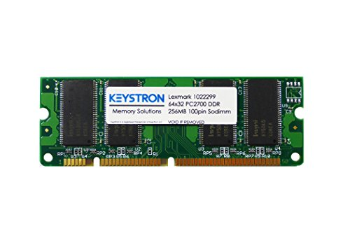 1022299 256MB 100pin PC2700 Memory Upgrade for Lexmark Printer X544dn,X544dtn,X544n,X543dn,X544dw,X546dtn