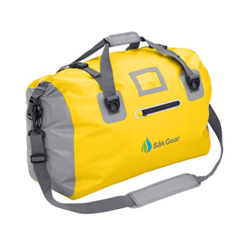 DuffelSak Waterproof Duffel Bag (Yellow)