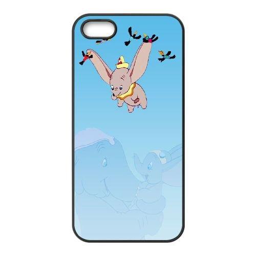 Dumbo 001 coque iPhone 4 4S Housse téléphone Noir de couverture de cas coque EOKXLLNCD18445