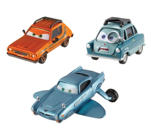 Cars 2 Collector Submariner, Professor Z, and Grem Vehicle 3-Pack (Cars 2 Grem)