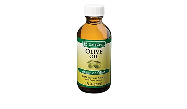 Amazon.com: De La Cruz Aceite de Olivo Olive Oil - 2 fl oz bottle: Beauty