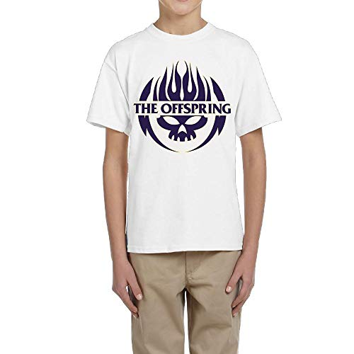 TheresaT.Clodfelter Boys The Offspring Summer Cool Cotton Picnic Short Sleeves Tee Shirt Gift S by TheresaT.Clodfelter