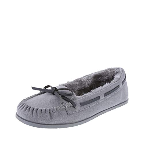 Airwalk Women's Light Grey Women's Flurry Moc 5.5 Regular