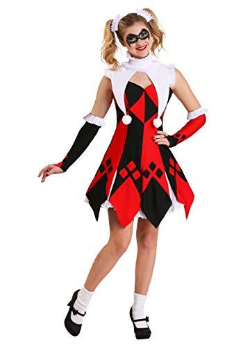 Cute Court Jester Women's Costume Medium -