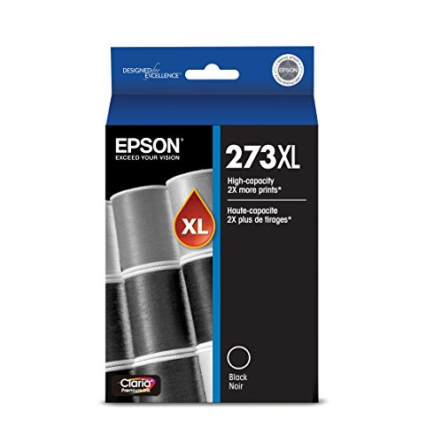 (Epson T273XL020 Claria Premium High Capacity Cartridge Ink Black)