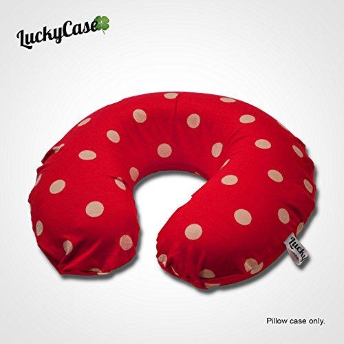 LuckyCase Pillowcase for U Shaped Neck Pillow