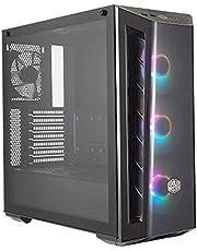حافظة كولرماستر MB520 ARGB MidTower ATX ستيل بلاستيكي TGlass