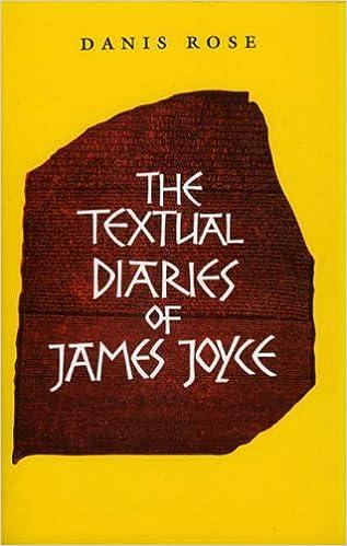 The Textual Diaries of James Joyce