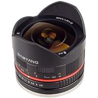Samyang SY28FE8MBK-FX 8mm f/2.8 Ultra-Wide for Fuji X