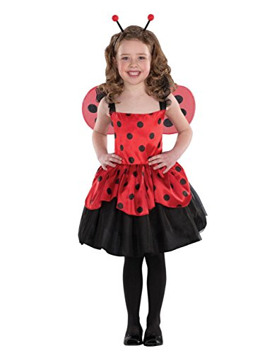 [Totally Ghoul Girls Ladybug Halloween Costume L] (Primrose Halloween Costume)