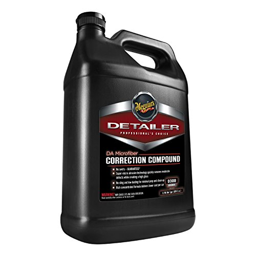 Meguiar's DA Microfiber Correction Compound - Auto Compound Removes Surface Defects - D30001, 1 gal