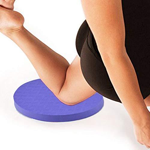 Amazon.com: liyhh - 2 rodilleras redondas para yoga, fitness ...