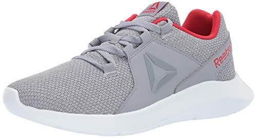 (Reebok Men's ENERGYLUX Running Shoe, Cool Shadow/Primal red/White, 11 M US)