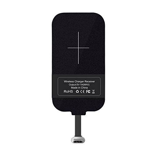Type C Wireless Charging Receiver, Nillkin Magic Tag USB C Qi Wireless Charger Receiver Chip for Google Pixel/Pixel XL/Nexus 6P/LG V20/HTC 10/OnePlus 3 and other USB-C Devices