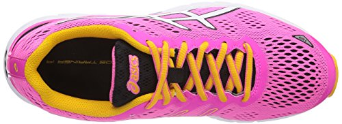 ASICS Gel-Ds Trainer 19 Neutral Damen Traillaufschuhe Rosa (3501-Neon Pink/White/Schwarz)