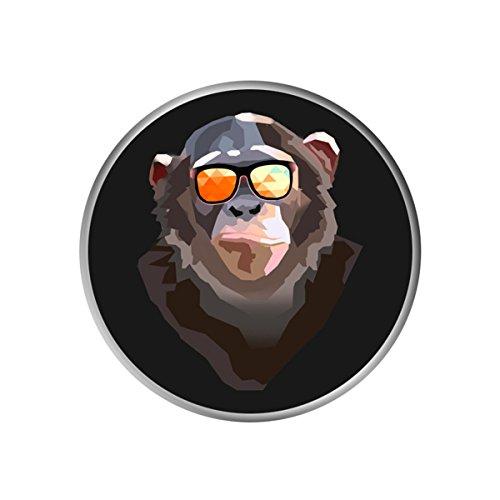 (Pop Mount Socket Car Mount for SmartPhone or Tablets for Men - Hold Your Phone - Cool Monkey)
