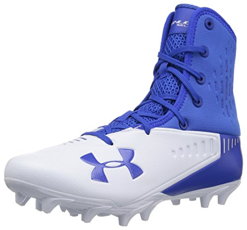 Under Armour Men's Highlight Select MC Football Shoe, Team Royal (400)/White, 11