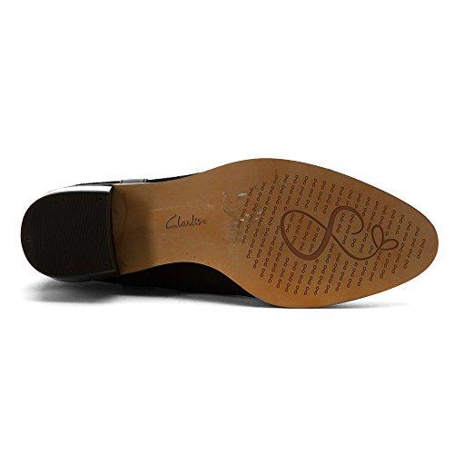 Black Clarks Ankle Shine Breccan Boot Women's qwP1Xxfaa