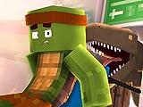 Clip: Minecraft School - Dinosaurs in the School!