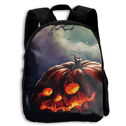 Liumong Halloween Black Pumpkin Devil Scary Children Multi-Function