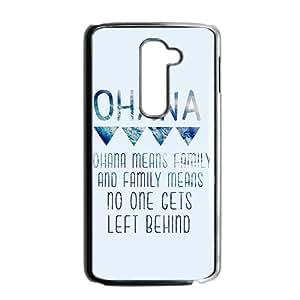 ohana means family Phone Case for LG G2 Case