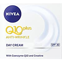NIVEA Q10 Plus Anti-Wrinkle Day Cream, SPF30, 50ml