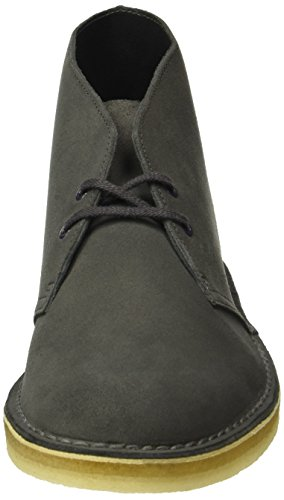 Suede Suede Suede Charcoal Desert Clarks Polacchine Boot Boot Boot Boot Originals Grigio Uomo Yxwq50wB