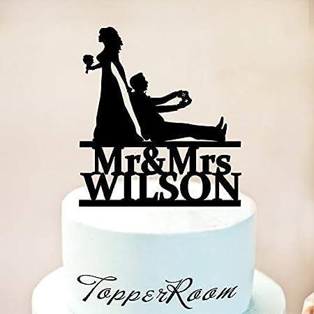 Decoración para tarta con diseño de gamer de boda, mando de ...
