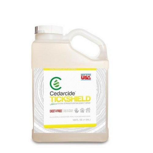 Cedarcide Tickshield Tick Repellent for People, Pets & Home with Natural Cedar Oil