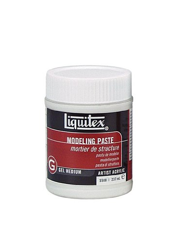 LIQUITEX / COLART Modeling Paste Acrylic Gel Medium-8oz