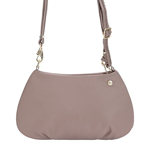 Pacsafe Unisex Citysafe CX Anti-Theft Small Crossbody Bag Blush Tan One Size