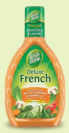 - Wish-Bone Deluxe French Dressing, 16 oz (Pack of 3)