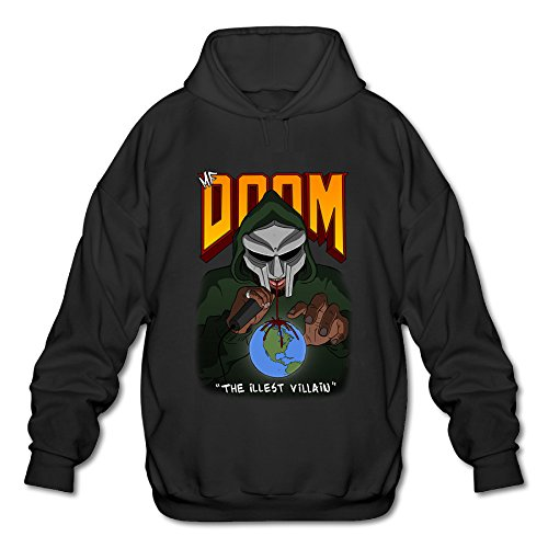 Men's MF Doom Madlib Mask Debut Albu Hoodie -