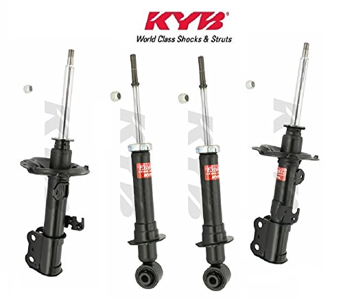 (KYB KIT 4 FRONT & REAR shocks / struts 2003 - 08 TOYOTA Corolla (Exc. FX Series & All Trac))