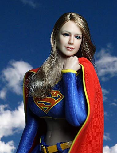 FacaiFacai Figure Accessories 1/6 Figure Super Heroine Clothing Set 1:6 Figure Superwoman Clothes Set 12