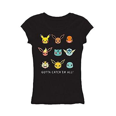 Pokemon Catch Em All Juniors T-Shirt Licensed New supplier