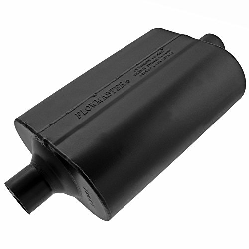 (Flowmaster 952060 60 Delta Flow Muffler - 2.00 Center IN / 2.00 Center OUT - Mild Sound)