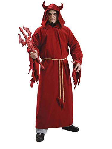Rubie's Demon Lord, Red, One Size Costume -