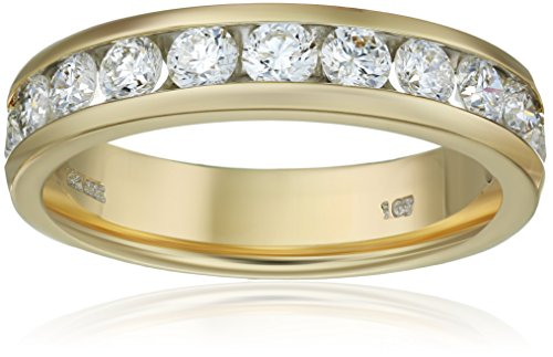14k Gold Round Diamond Anniver