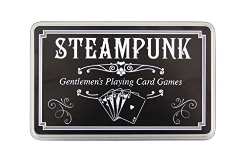 Steampunk Gentlemans Playing Card Games Set 3