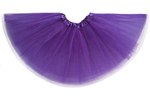 [Swan Classic Women Adult Youth Dancewear Ballet Pettiskirt Princess Costume Party Tutu Skirt - 16